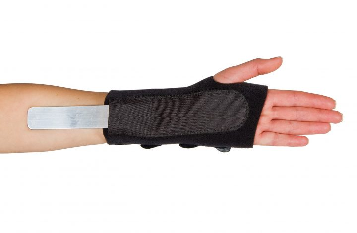Antibacterial Treated Breathable Wrist Splint…..