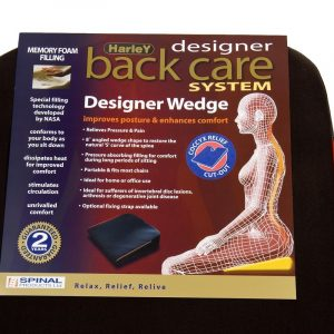 harley designer memory foam coccyx seat wedge packaging hl4023