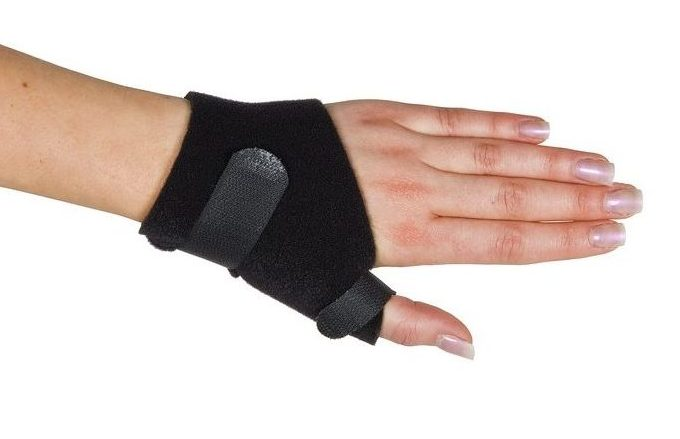 Bioprene Antibacterial Treated Thumb Braces