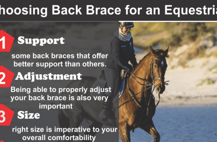 Equestrian Lower Back Injury Support